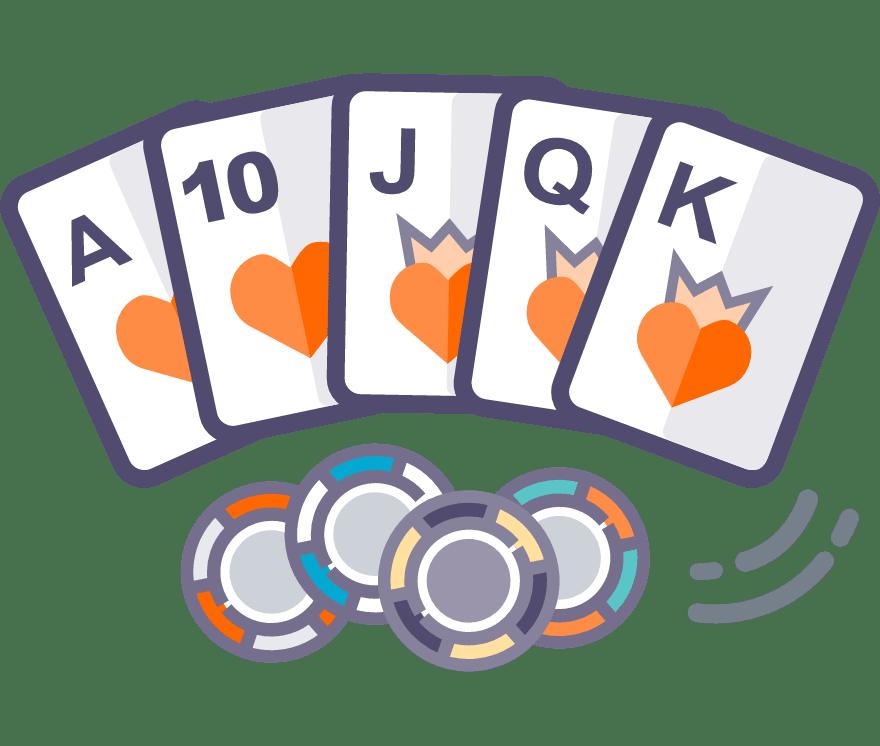 Los 35 mejores sitios de Casino de Texas Hold'em en línea en México